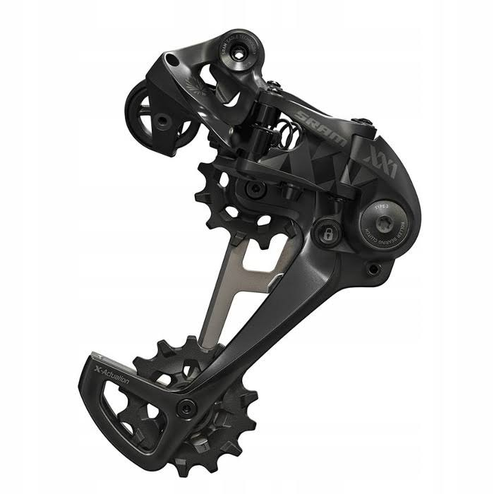 SRAM XX1 Eagle Type 3 Bicycle Rear Derailleur - Black Carbon, 12 Speed