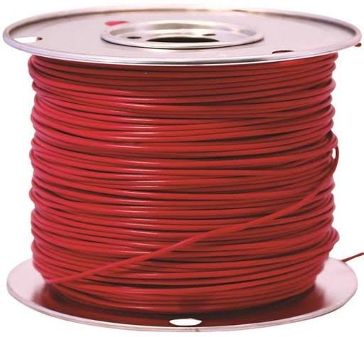 Coleman Cable Wire - Primary Red, 10 Gauge, 100'