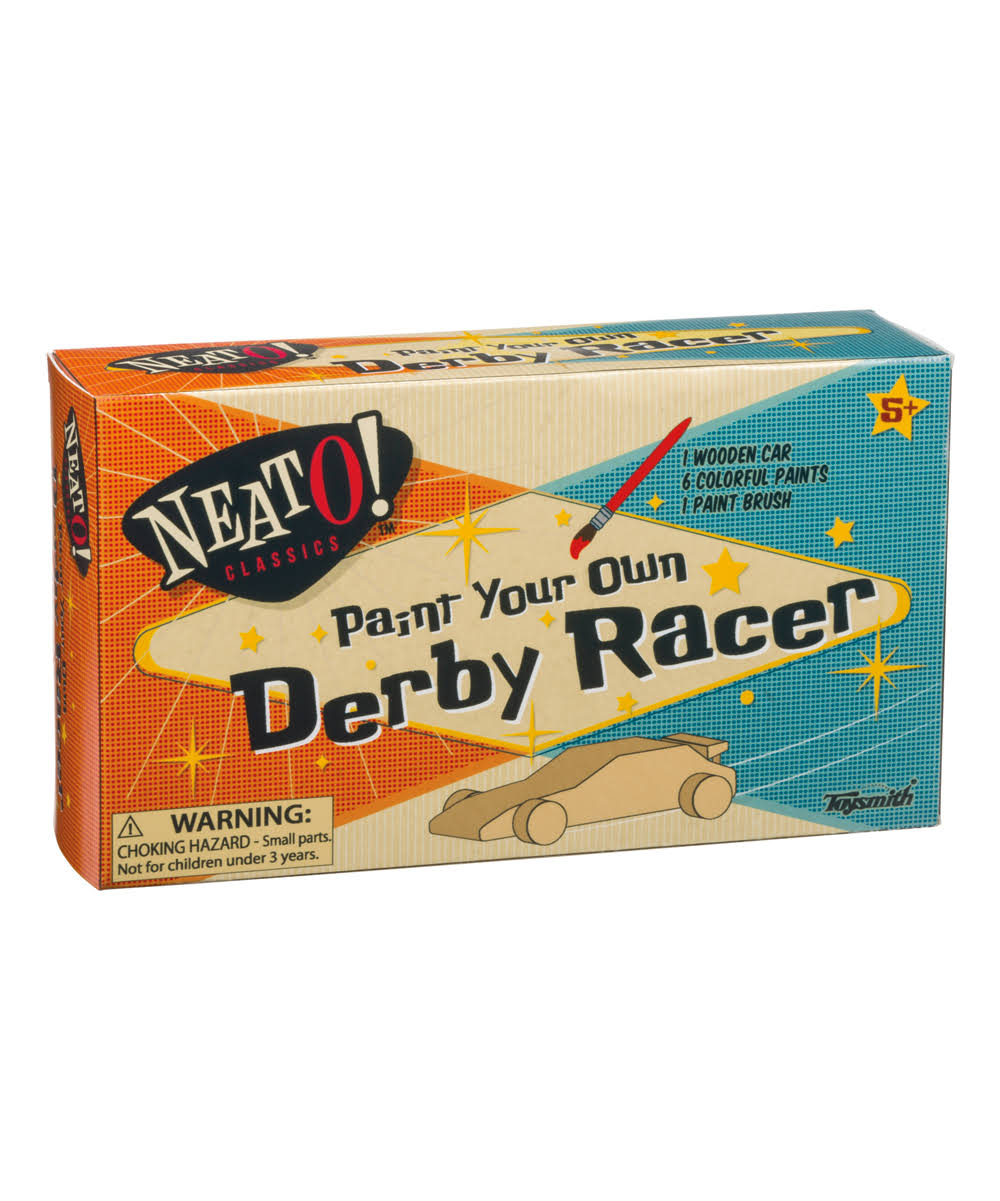 Toysmith Paint Your Own Derby Racer
