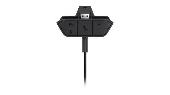 "Microsoft Xbox One Headset Adapter - Black, 5.8"" x 5.6"""