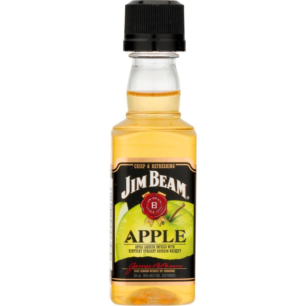 Jim Beam Liqueur, Apple - 50 ml