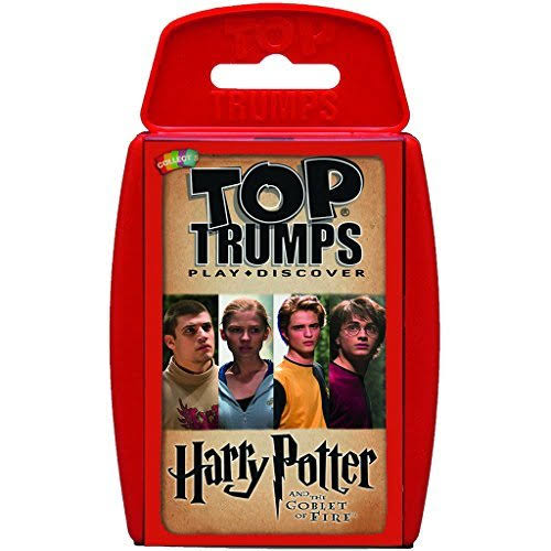 Top Trumps Harry Potter and The Goblet of Fire Card Game