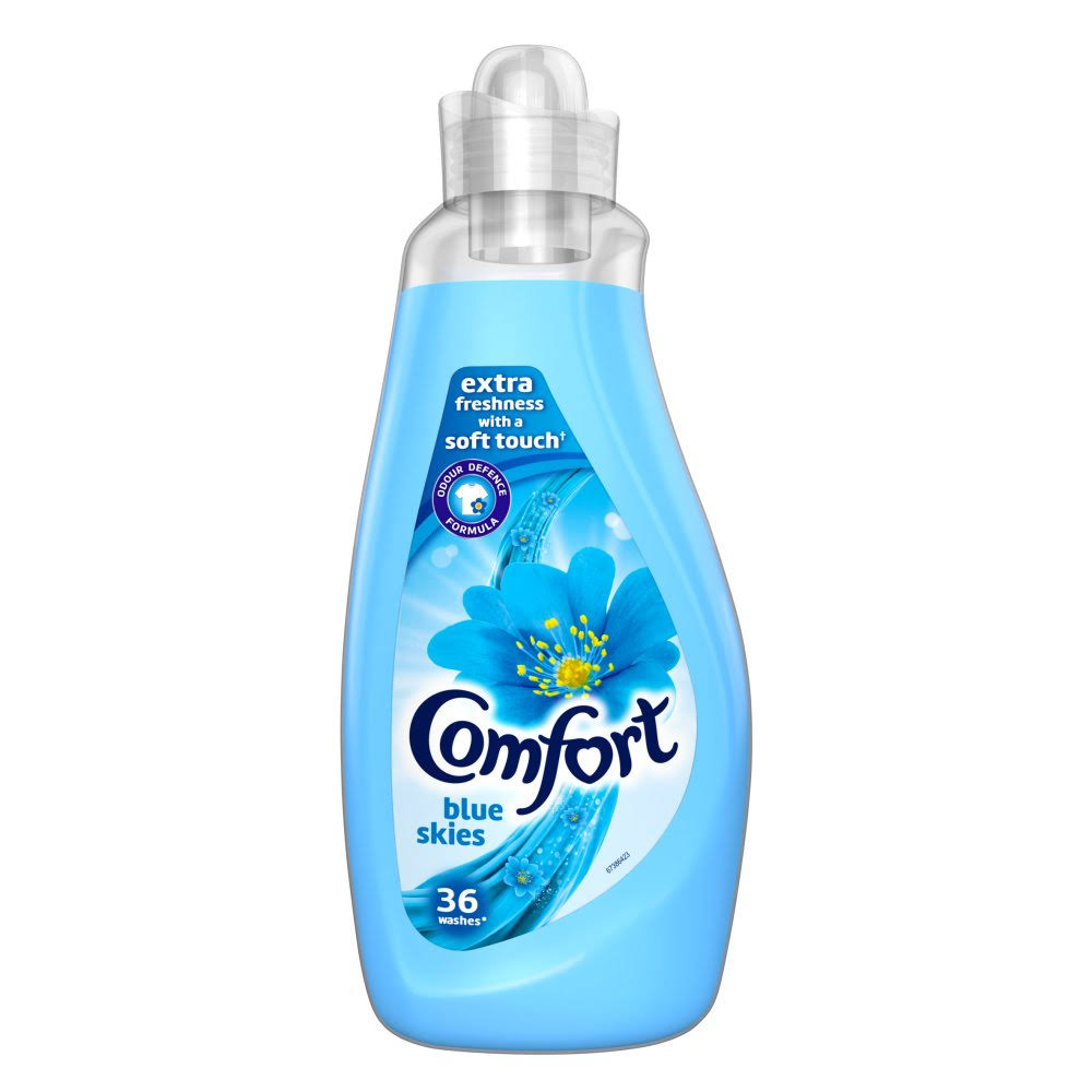 Comfort Blue Skies Fabric Conditioner - 36 Wash, 1.26L