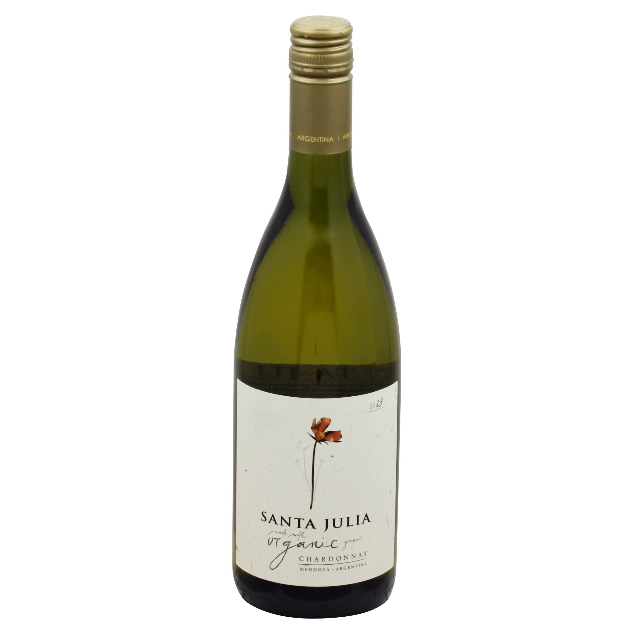 Santa Julia Chardonnay, Mendoza (Vintage Varies) - 750 ml bottle