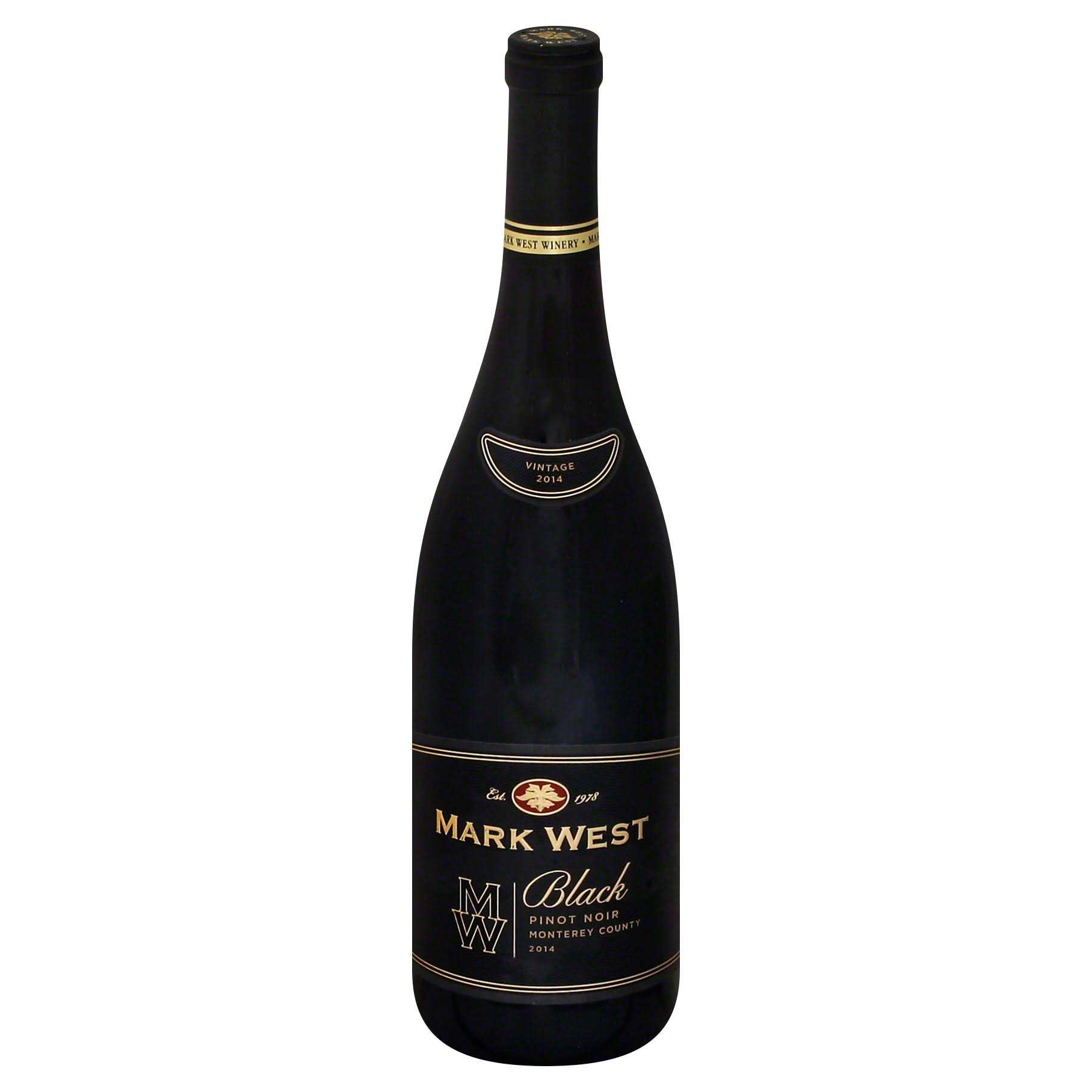 Mark West Pinot Noir, Black, Monterey County, 2014 - 750 ml