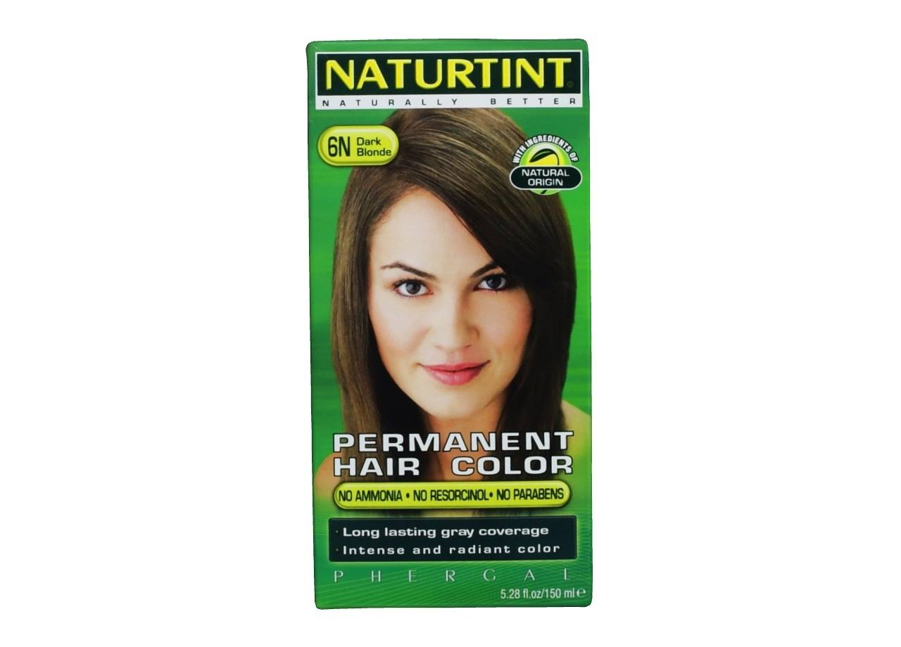 Naturtint Naturally Better Permanent Hair Colour - 6N, Dark Blonde, 165ml
