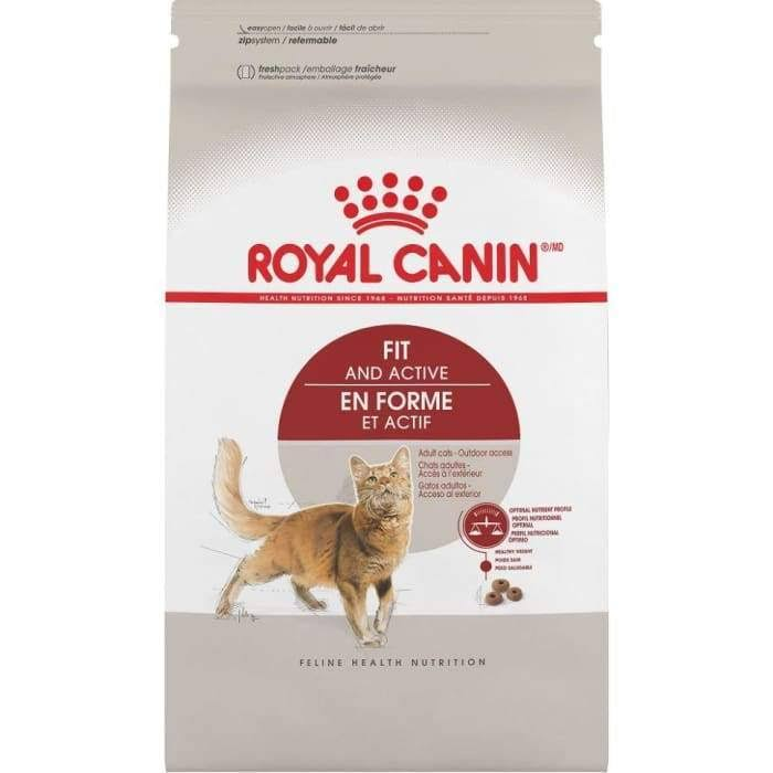 Royal Canin Feline Health Nutrition Dry Cat Food - Adult Fit 32, 15lbs