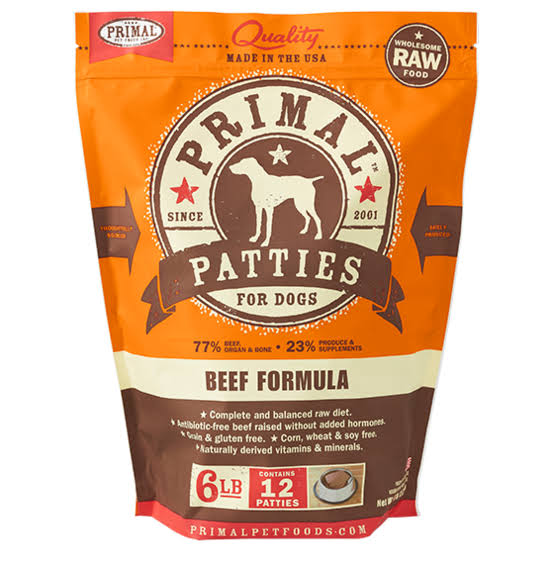 Primal Beef Patties - 6lb