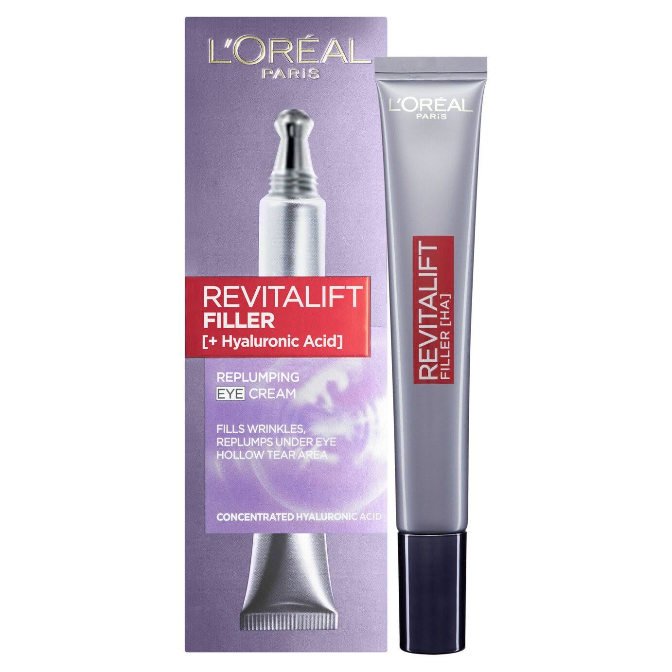 L'Oreal Paris Revitalift Filler Renew Eye Cream - 15ml