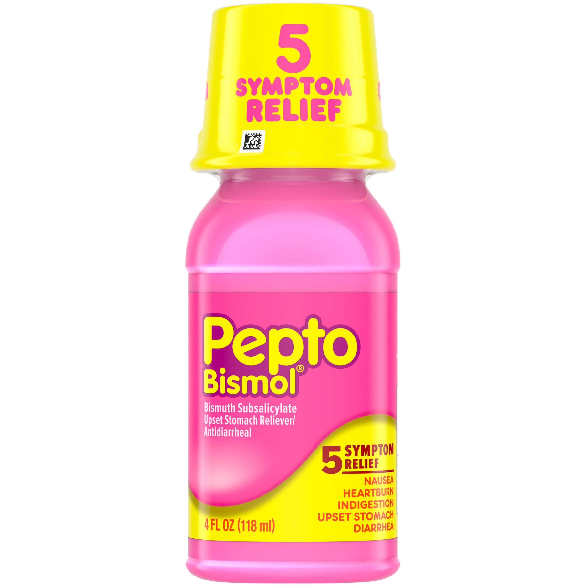 Pepto-Bismol Bismuth Subsalicylate Upset Stomach Reliever & Antidiarrheal - 4oz