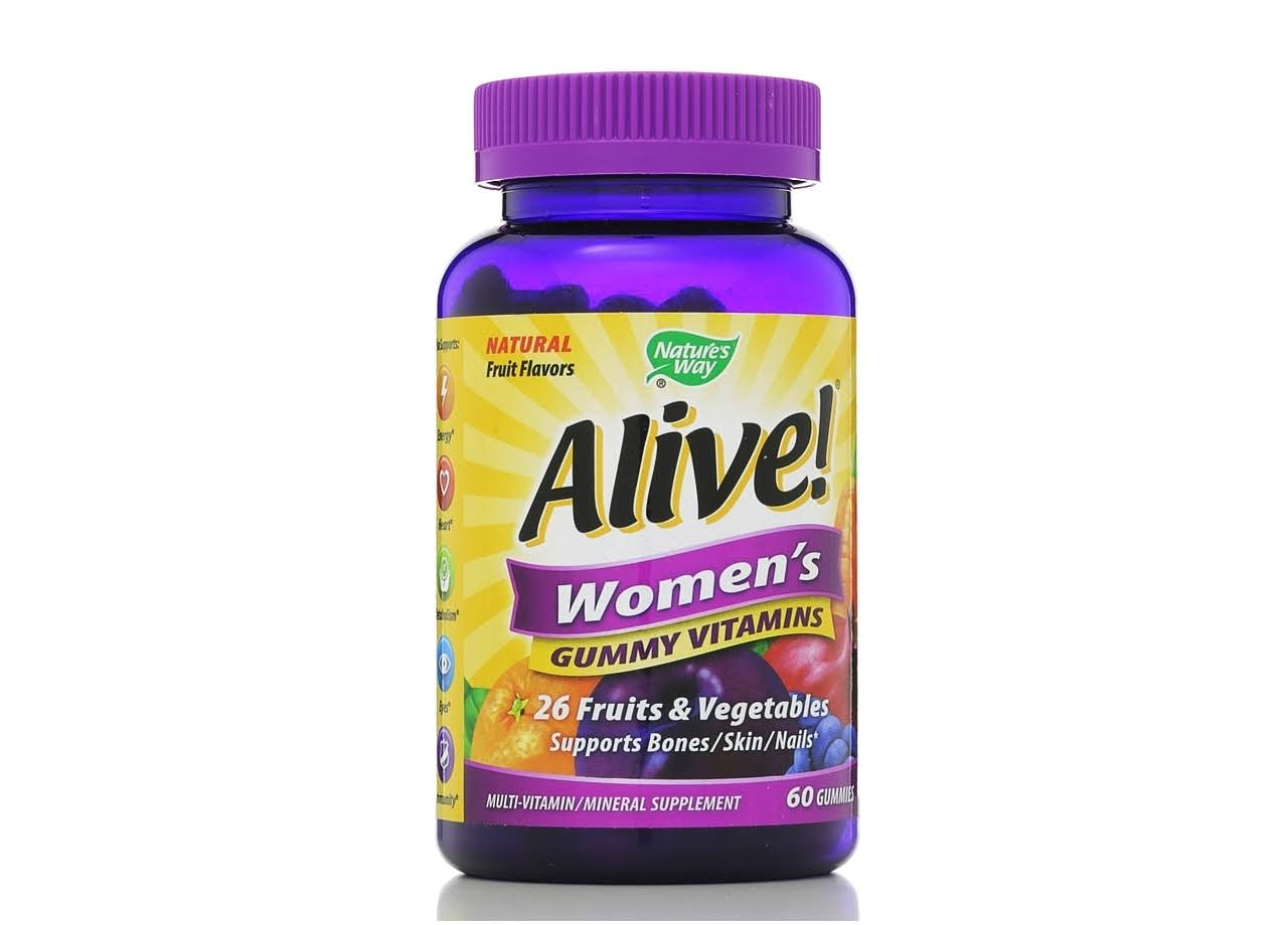 Natures Way Alive Womens Multivitamin - 60 Gummies