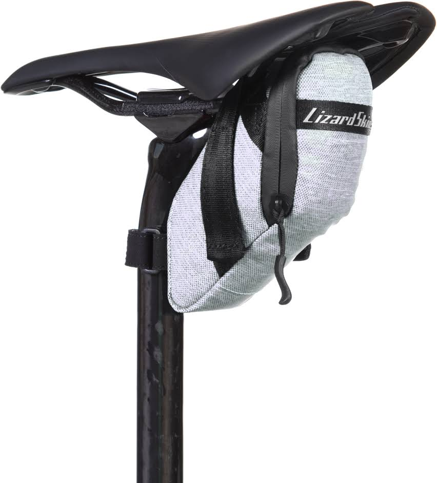 Lizard Skins Lead Cache Bicycle Saddle Bag - Grey