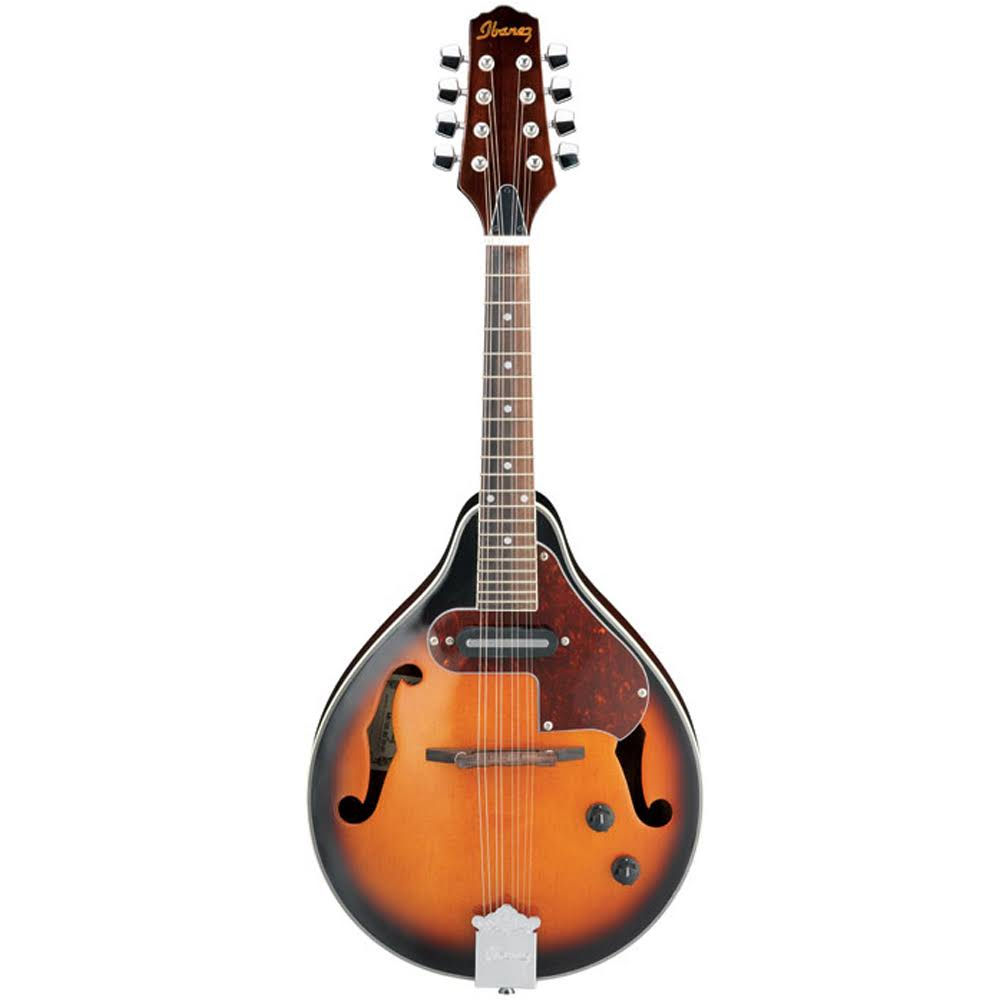 Ibanez M510E A-Style Acoustic Electric Mandolin - Brown Sunburst