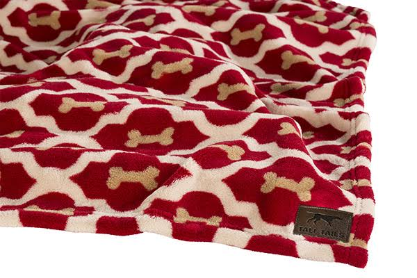 Tall Tails Dog Fleece Blanket - Red Bone, 30x40''