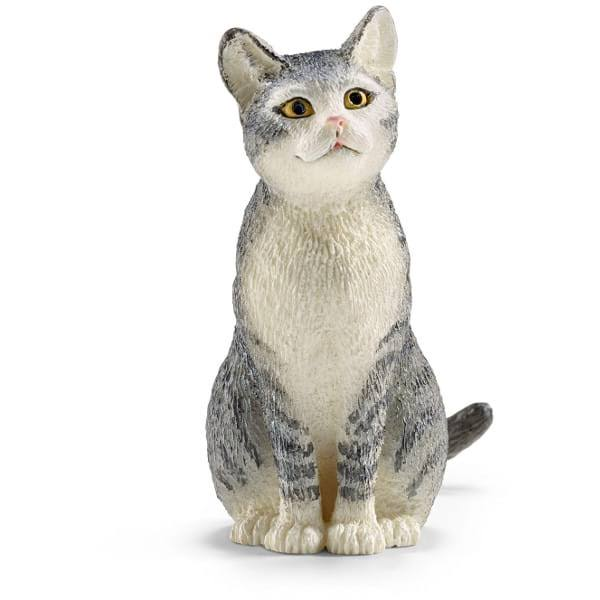 Schleich Sitting Cat Figure - 13771
