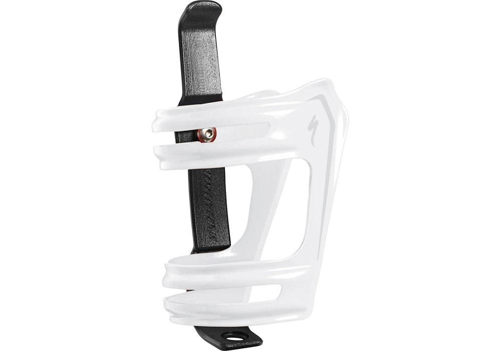 Specialized Roll Bottle Cage White/Silver
