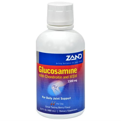 Zand Glucosamine with Chondroitin and MSM Liquid - Berry, 16oz