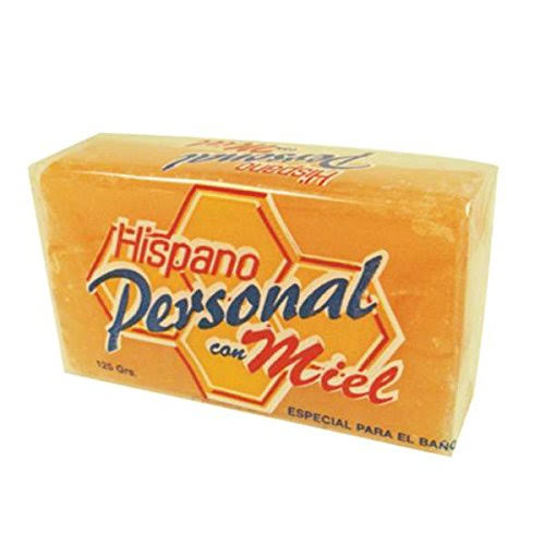 Hispano Personal Con Miel Soap - Honey Soap, 4.4oz