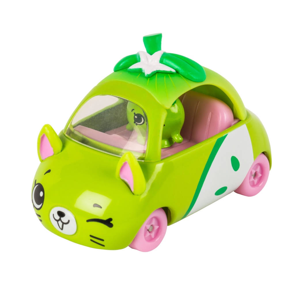 Shopkins Series 1 Cutie Car 08 Peely Apple Wheels