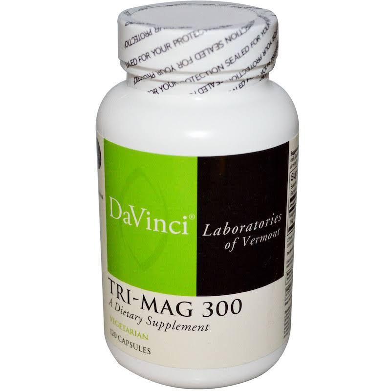 DaVinci Laboratories of Vermont Tri-Mag 300 Supplement - 120ct
