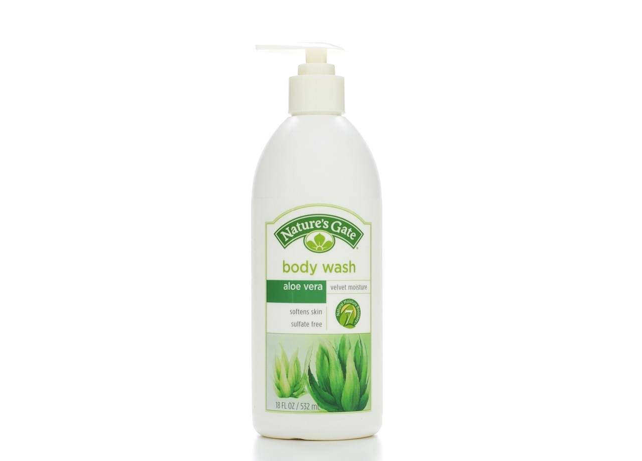 Nature's Gate Aloe Vera Velvet Moisture Body Wash - 18oz