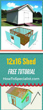 12x20 Storage Shed Kits by 9 Best 12x20 Shed Plans Images On Pinterest Shed Plans Shed