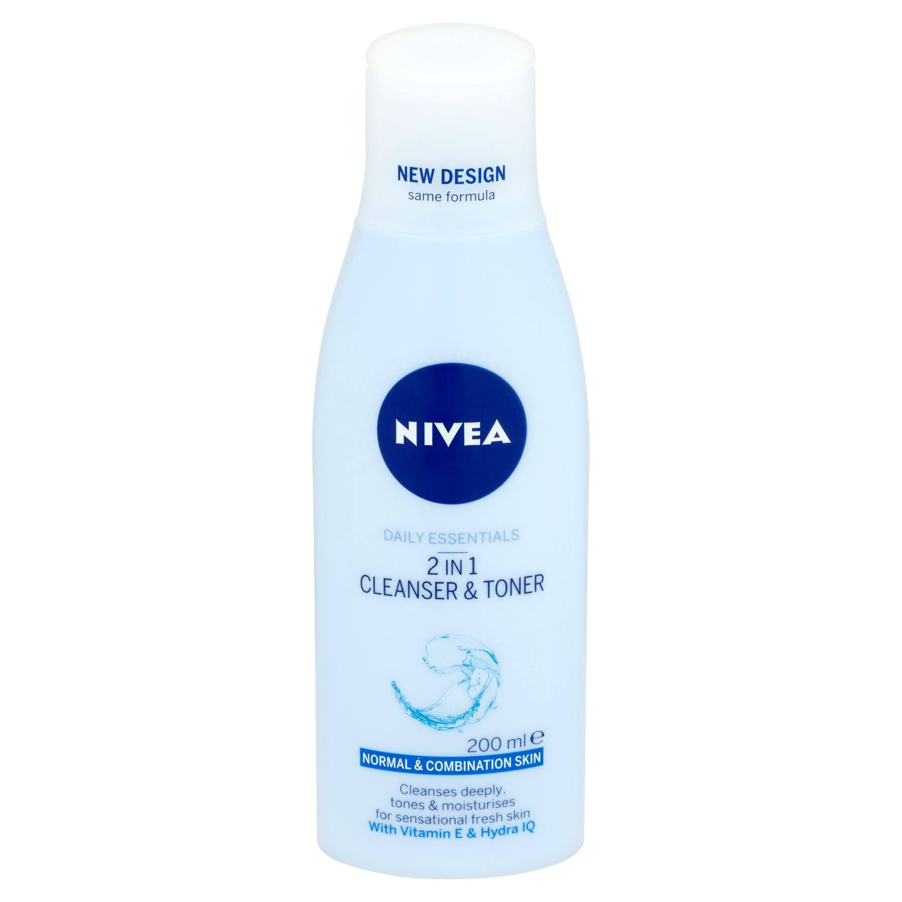 Nivea 2-in-1 Cleanser & Toner 200 ml