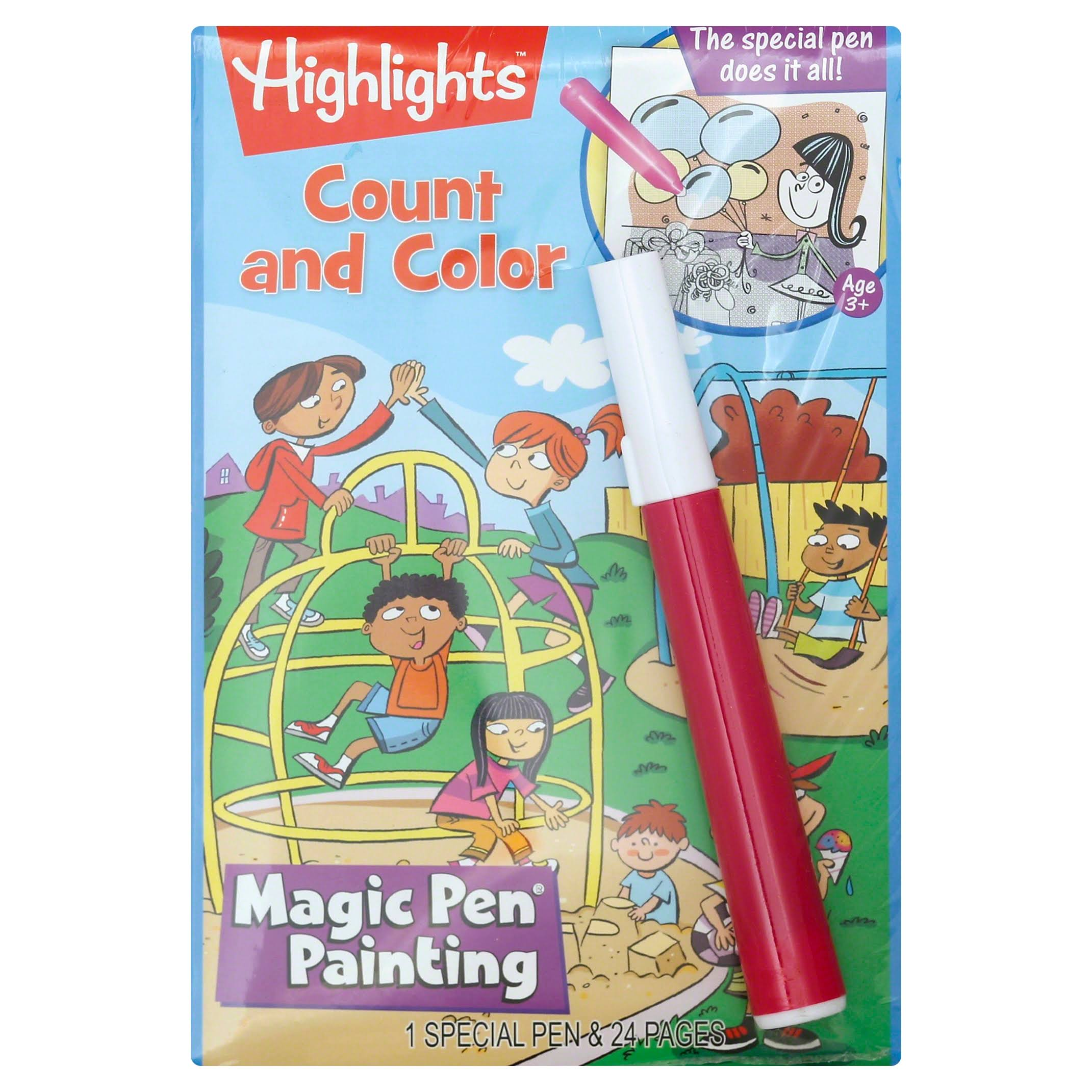 Magic Pen Book, Count and Color