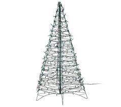Bethlehem Lights Christmas Trees Qvc by Pre Lit 6 U0027 Fold Flat Outdoor Christmas Tree By Lori Greiner Page