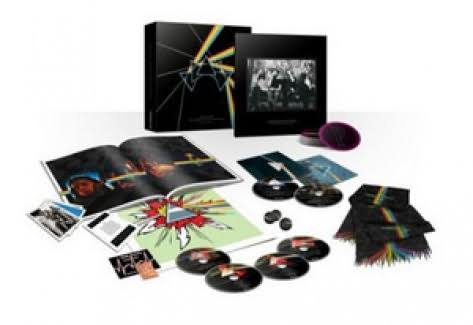 The Dark Side Of The Moon by Pink Floyd Immersion Box Set