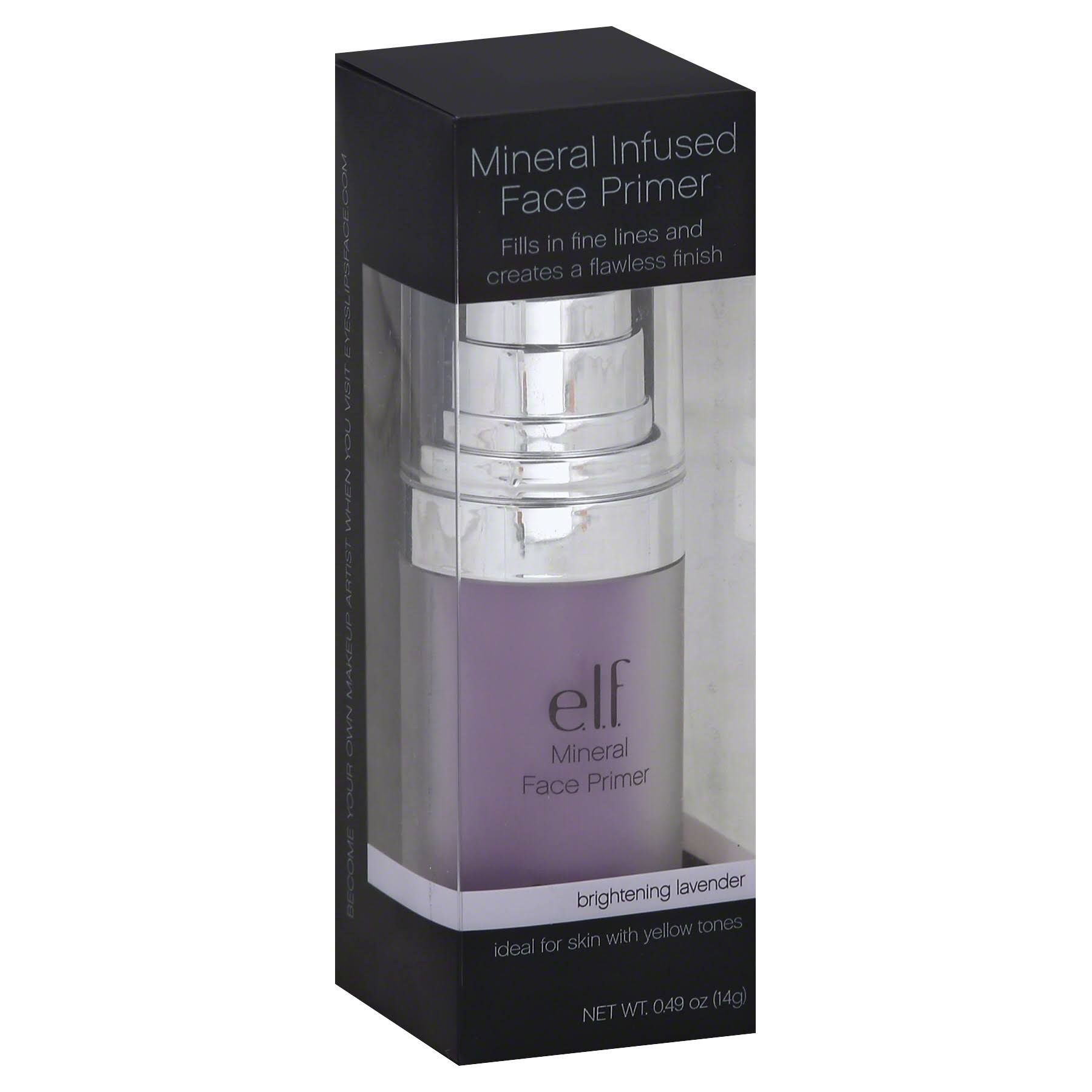 Elf Brightening Lavender Tone Adjusting Face Primer