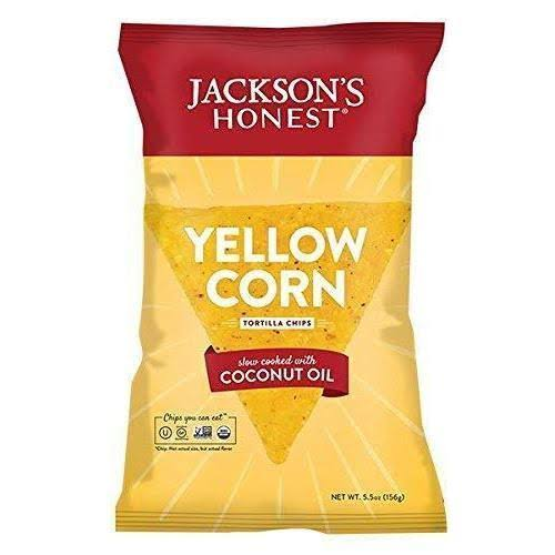 Jacksons Honest Tortilla Chips Yellow Corn