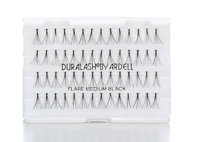 Ardell Duralash Flares - Medium Black, 56 Lashes