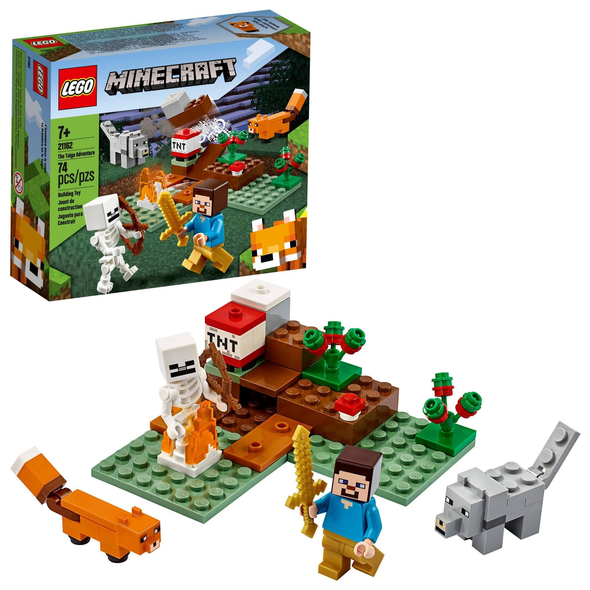 Lego Minecraft - The Taiga Adventure 21162