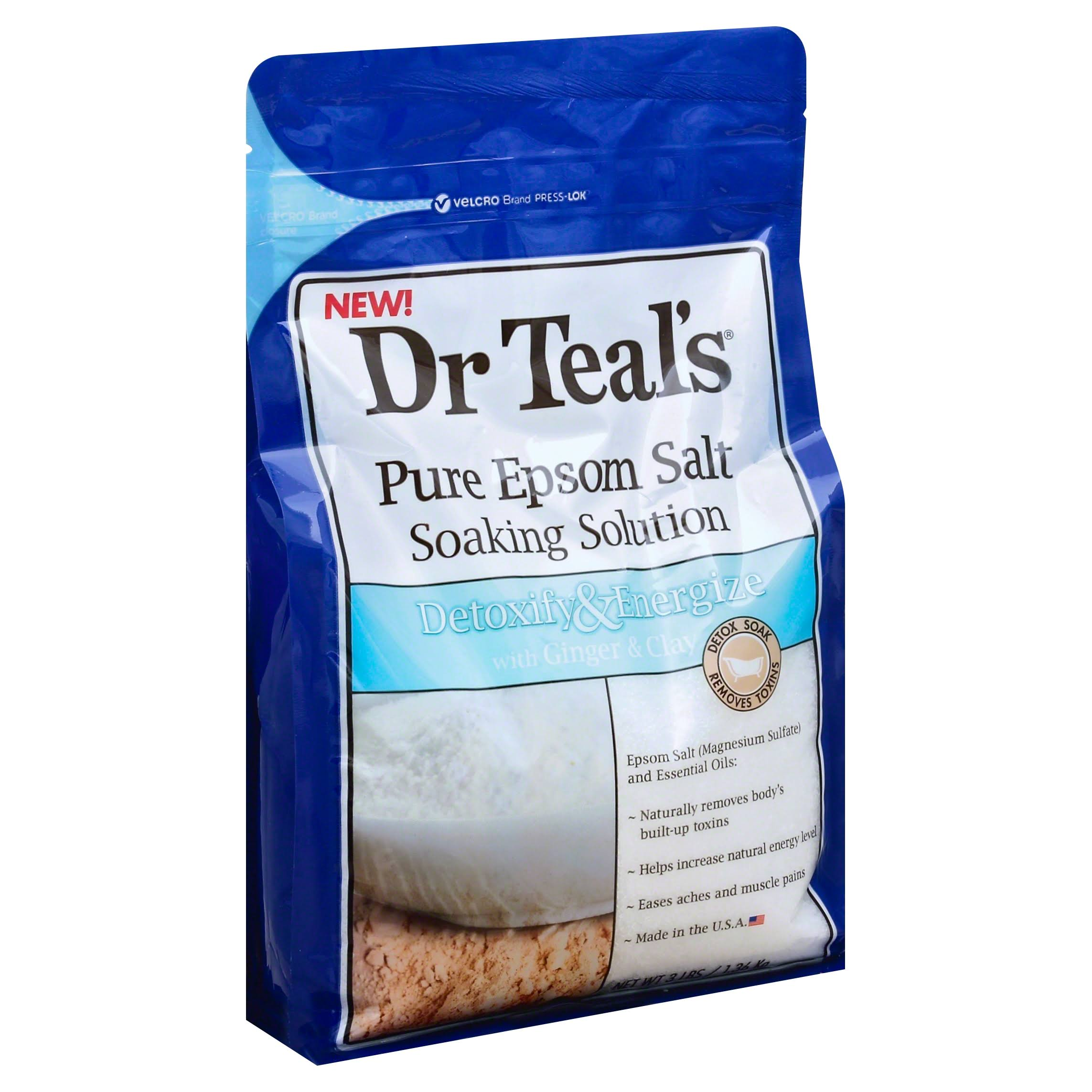 Dr Teal's Pure Epsom Salt Soaking Solution - 3lbs