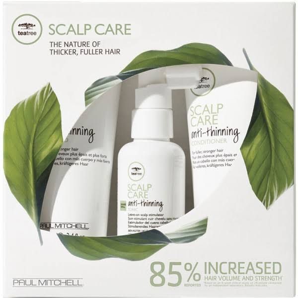 Paul Mitchell Tea Tree Scalp Care Anti-thinning Treatment Kit - 3 Pieces