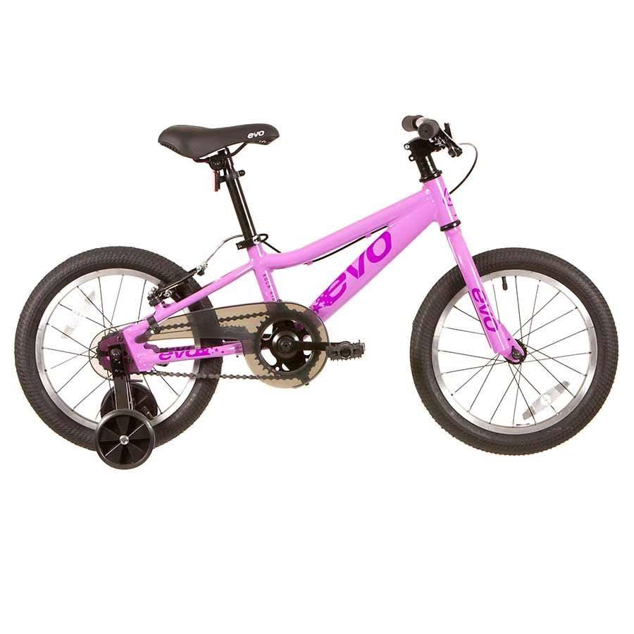Evo Kid's Rock Ridge 16 Bicycle - Grape Parfait, 1 Speed