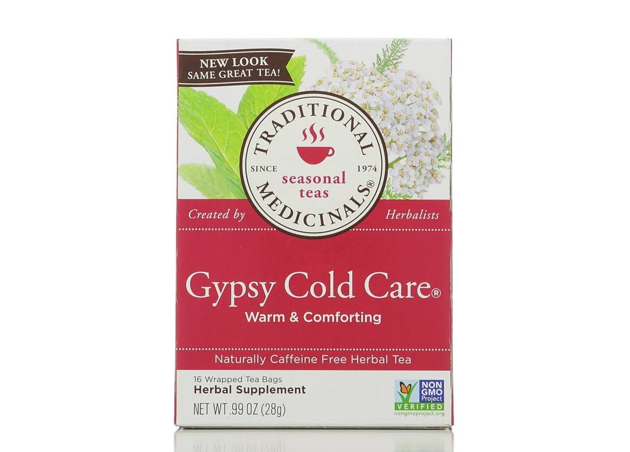 Traditional Medicinals Gypsy Cold Care - 16 Tea Bags, 28g