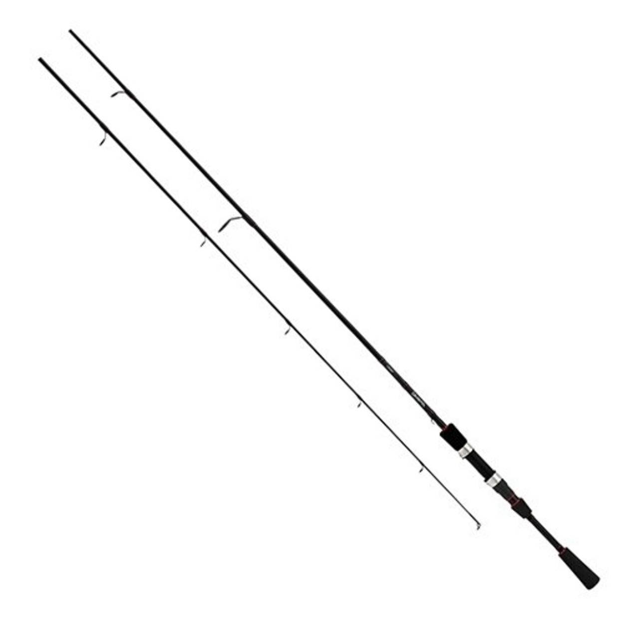 "Daiwa LAG761MXS Laguna Spinning Rod - 7'6"" Length, Black"