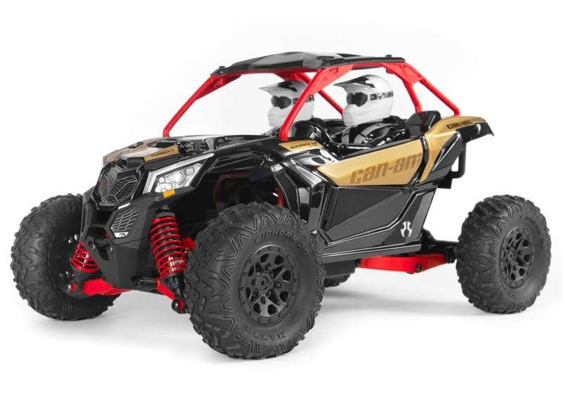 Axial Axi90069 Yeti Junior Can-Am Maverick 4wd Brushed Rs Turbo - 1/18 Scale