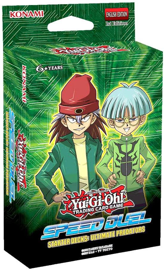 Yu-Gi-Oh! Speed Duel: Ultimate Predators Starter Deck