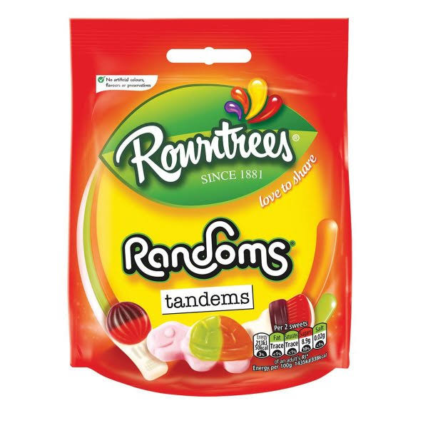Rowntrees Randoms Sweets - 150g