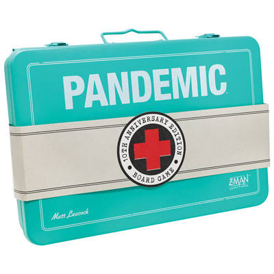 Z-man Games Pandemic 10th Anniversary Edition Board Game