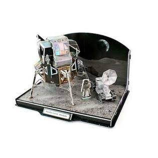 Daron Lunar Module 3D Foam Puzzle Model Kit - 104pcs