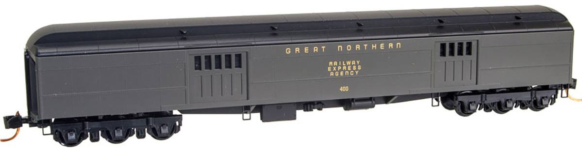 Micro-Trains N 14700020 70' Express Baggage Car, Great Northern #400