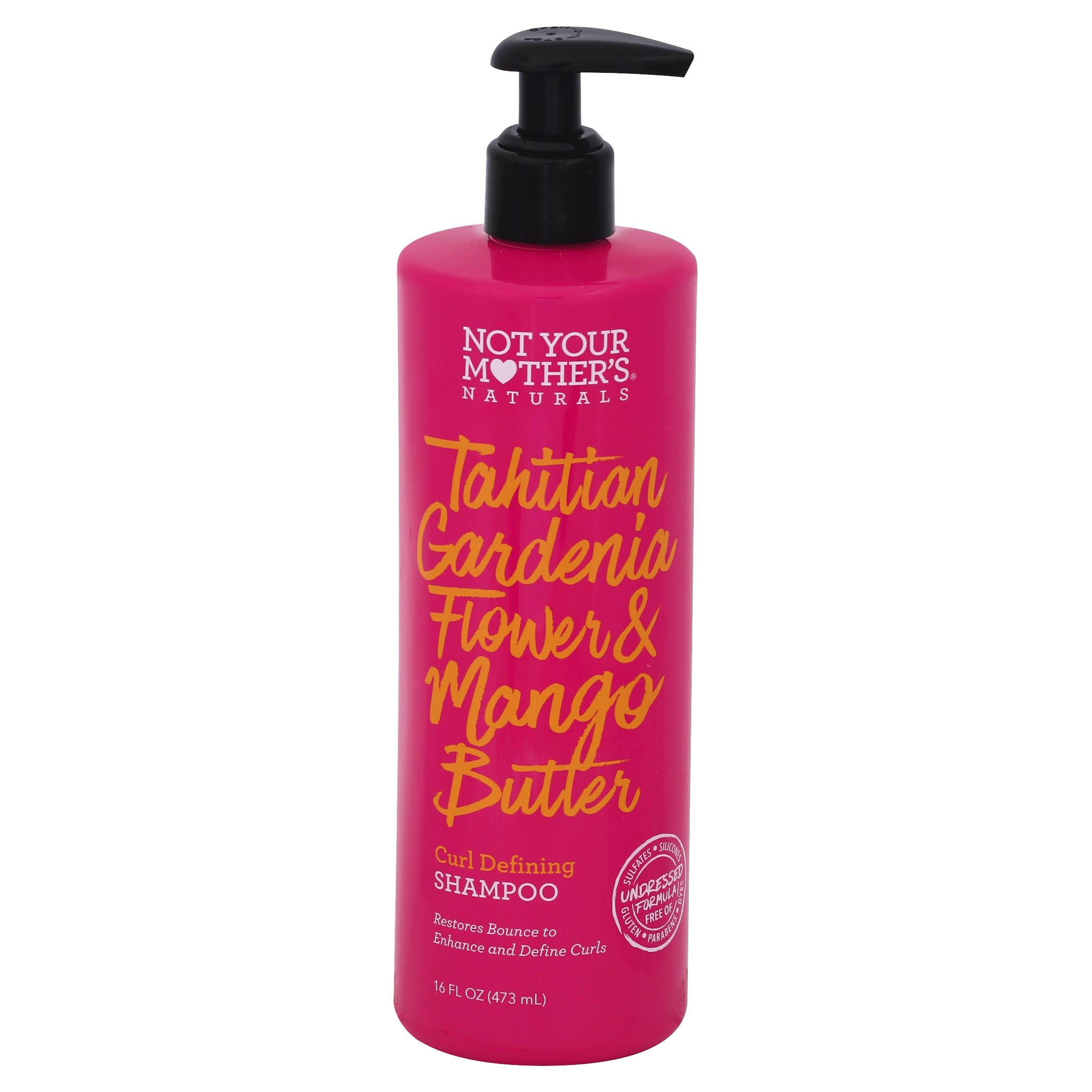 Not Your Mother's Naturals Tahitian Gardenia Flower and Mango Butter Shampoo - 16oz