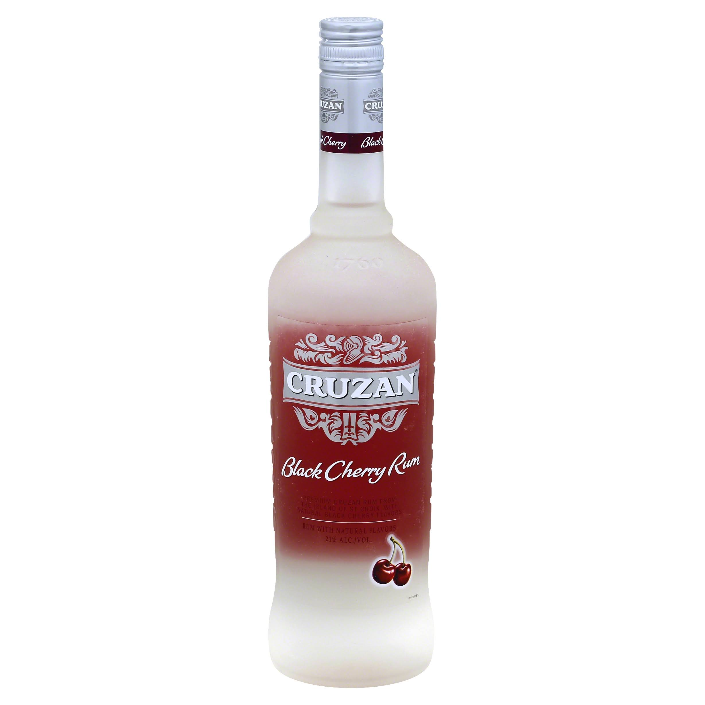 Cruzan Rum, Black Cherry - 750 ml