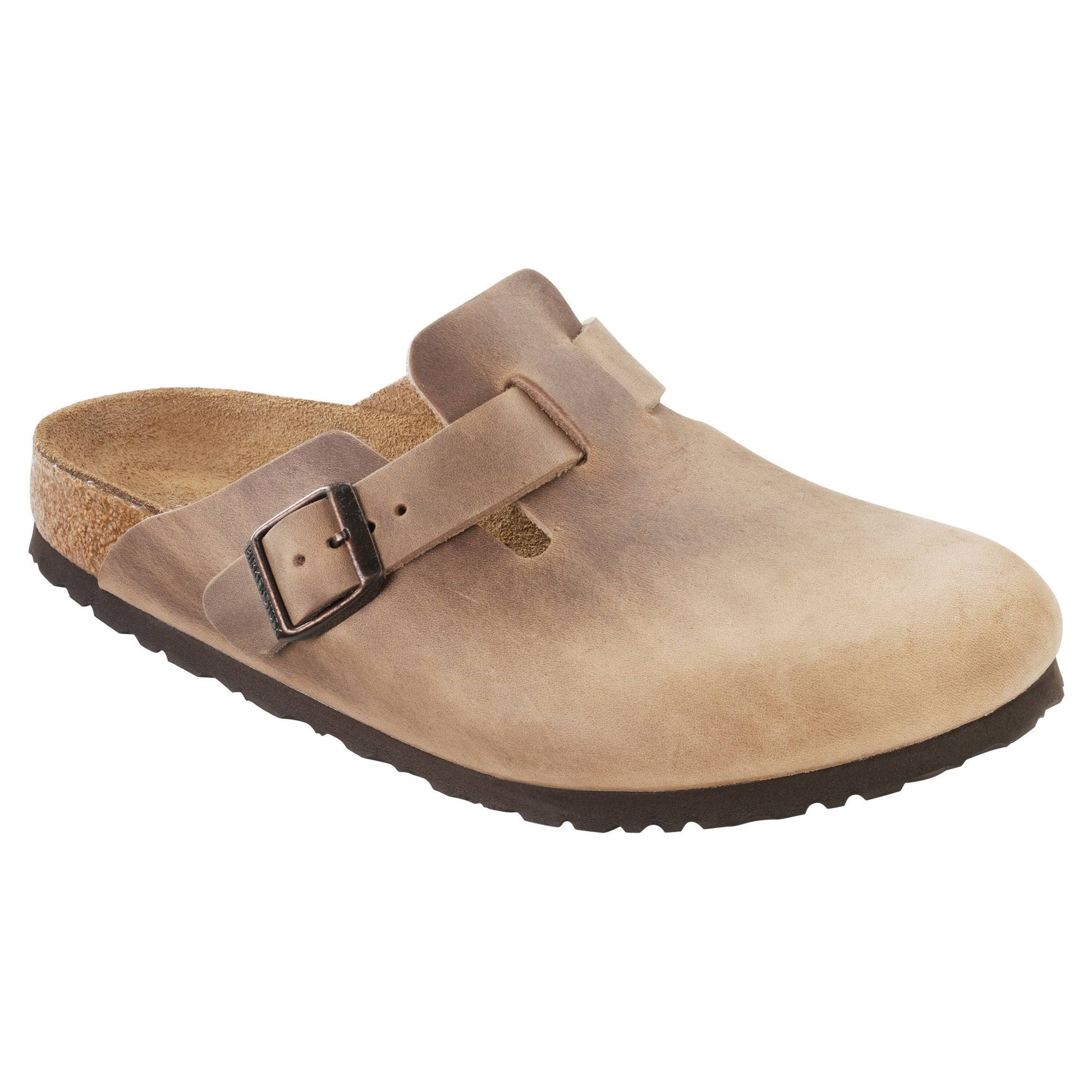 Birkenstock Boston Clog - 46 - Tobacco Oiled Leather