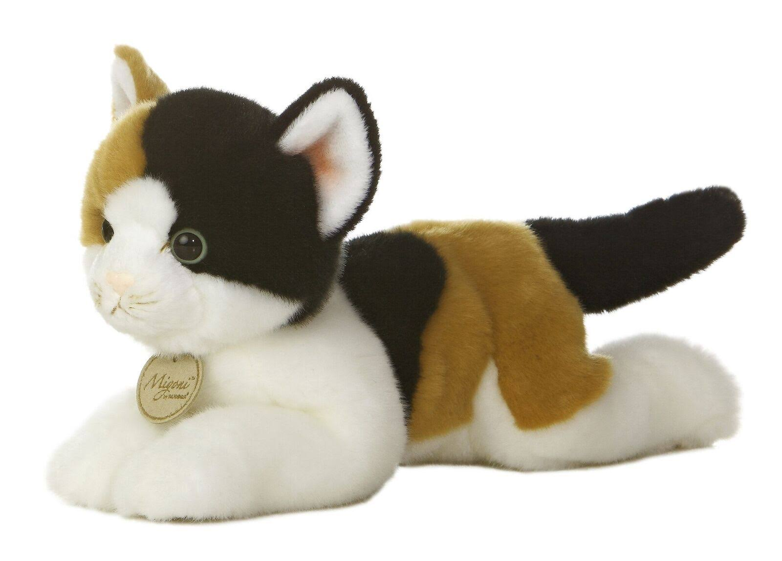 Aurora World Miyoni Calico Cat Plush - 11""