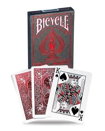 Bicycle MetalLuxe Red Playing Cards